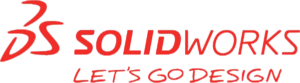 SolidWorks logo - let's go design